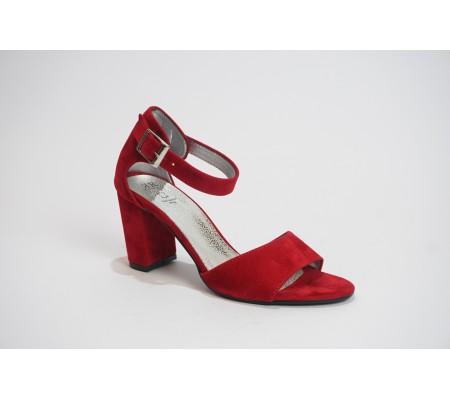 Sandał Romeo 555 czerwony