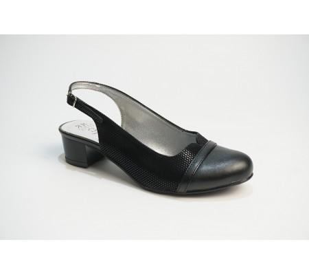 Buty letnie Romeo 566 czarne