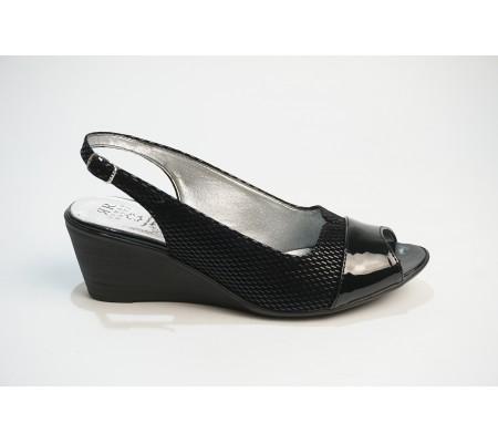 Sandał Romeo 536 czarny