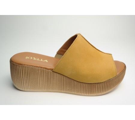 Klapek damski Stella 928 żółty